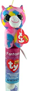 Flix Candy Ty Beanie Boos Collectible Plush Topper Tube with Bubblegum, Fantasia the Unicorn
