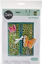 Sizzix 661390 Thinlits Die Set, Gatefold Card, Butterflies by Lori Whitlock (10-Pack)