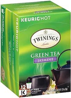 Twinings of London Jasmine Green Tea K-Cups for Keurig, 12 Count