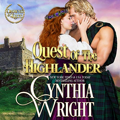 Quest of the Highlander Audiobook By Cynthia Wright cover art