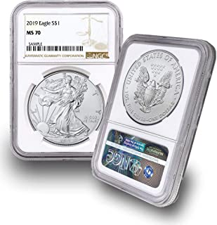 2019 American Silver Eagle $1 MS70 NGC