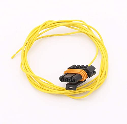 high quality 8 Feet popular Length Plug and Wire Pigtail Replacement popular for GM Alternators with 4 Pin Oval Connectors, Part Number 197-400 online sale