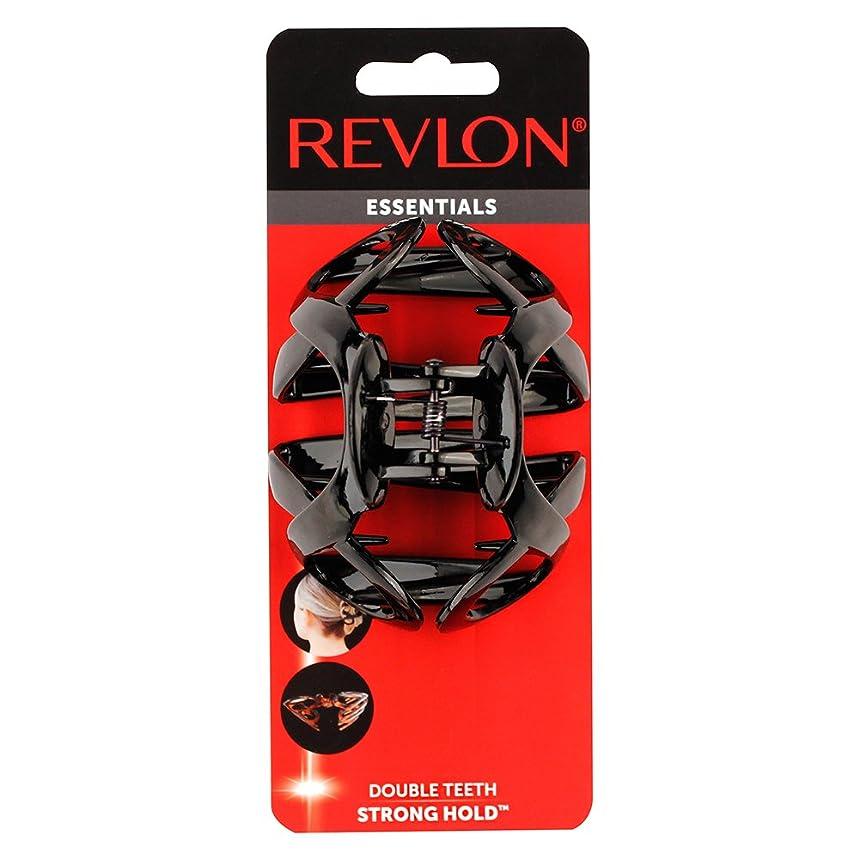 Revlon Essentials Modern Double Teeth Claw Clip