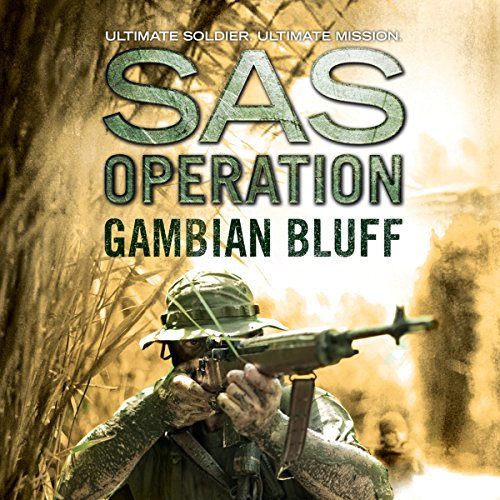 Gambian Bluff audiobook cover art