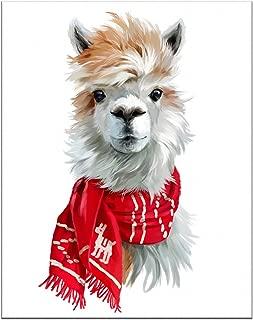 7Dots Art. Winter Animals. Watercolor Art Print, Poster 8