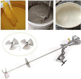 NOPTEG 50 Gallon Pneumatic Mixer Paint Mixer Mix Tool Stainless Steel 3.0~4.0Bar 1/2 HP