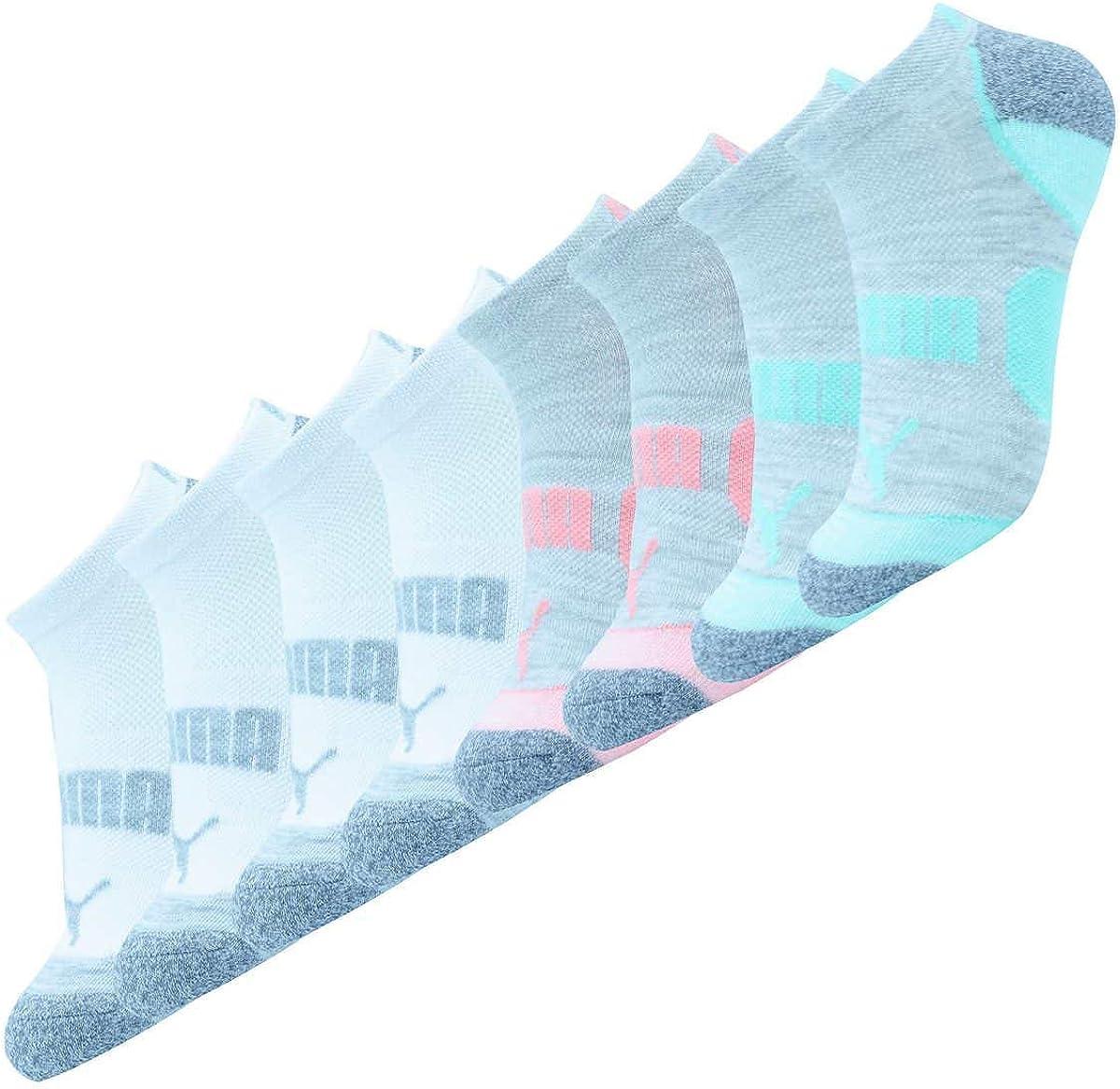 PUMA Women's 6 Pack No Show Multi Seasonal Wrap Introduction Sport All Socks 9-11 NEW before selling