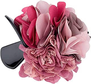 Voylla Bunch of Flowers Hair Clip Jewellery for Women