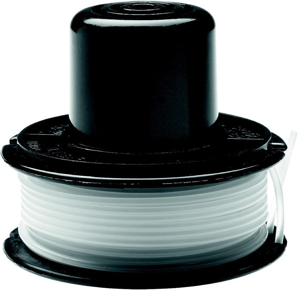 Black+Decker A6226-XJ - Bobina con hilo de 6m de largo y 1.5mm de diámetro, para los modelos con sistema de alimentación de hilo por golpeo GL250, GL310, GL360.