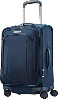 Samsonite Lineate Expandable Softside Carry On with Spinner Wheels, Evening Teal