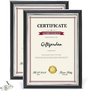 Giftgarden Marco de Fotos clásico Certificado A4