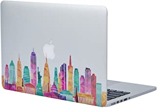 NDAD Famous Buildings in the United States Removable Vinyl Decal Sticker Skin for Macbook Pro Air Mac 13