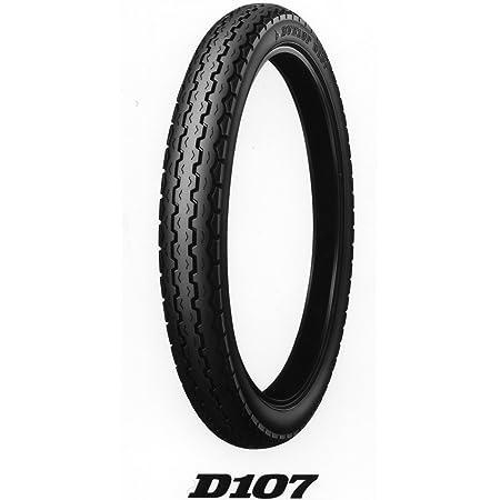 DUNLOP(ダンロップ)バイクタイヤ D107 リア 2.75-14 35P チューブタイプ(WT) 268543 二輪 オートバイ用