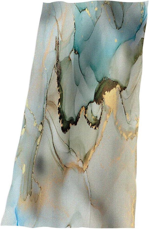 SSOIU Fluid Art Beach Towel Ranking Bombing free shipping TOP17 snaking Marbl Swirls Metallic Liquid