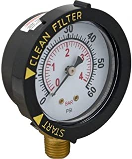 BLOSSOMZ GLI Pool Products 190058 Pressure Gauge Replacement Pool & Spa Valve and Filter