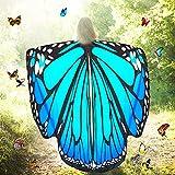 Htianc Schmetterling Kostüm Polyester Schmetterling Kostüm Flügel Damen Schmetterlingsflügel...