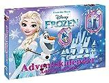 Enthält 24 Überraschungen Exklusiver Inhalt zu Disney Frozen Enthält unter anderem Schlüsselanhänger, Slap Snap Bands, Haarspangen und hübsche Accessoires Maße: ca. 45 x 34,5 x 4 cm Geeignet für Kinder ab 3 Jahren