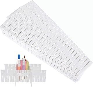 ASelected 36pcs Séparateur de Tiroir Modulable Bricolage en Plastique 32.4 x 7cm Tiroir Organisateur Séparateur de Tiroir,...