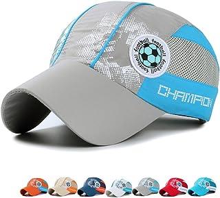 66e78d88ee4 Kids Toddlers Lightweight Quick Dry Sun Hat UPF50+ Mesh Baseball Hat  3-12years