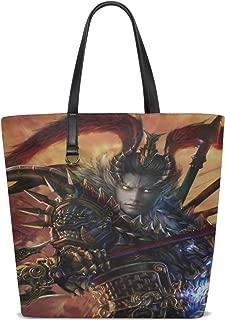 Maxm Lu Bu Dynasty Warriors 8 Warrior Armor Spear Tote Bag Purse Handbag For Women Girls