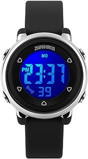 SKMEI Kids Digital Waterproof Watch, Boys Girls Sport Outdoor Multifunction Watches Colorful LED Children Wristwatches wit...