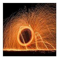 スチールウール ファインスチールウール、祭りのお祝いライト絵画写真、屋外写真の小道具、24パッド