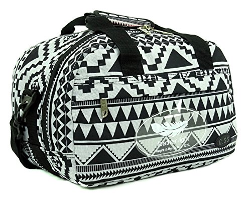 GSS , Trolley Multicolore Aztec Black carry-on