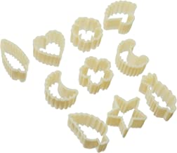 Sin Lian 10565 Biscuit Cutter 110, Yellow (Set of 10)