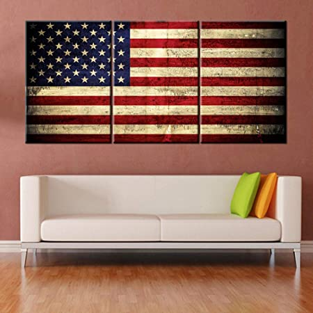 STARS /& STRIPES American Eagle POSTER 24X36 PATRIOTIC Painted Design NEW SW0