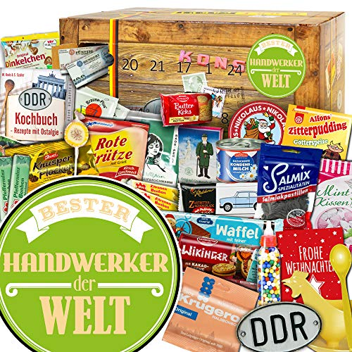 Bester Handwerker - Adventskalender Ostalgie - Adventskalender Männer - Handwerker Geschenk