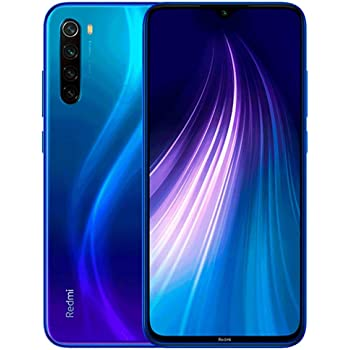 "Xiaomi Redmi Note 8 6.3"" 64GB 4GB RAM (GSM Only, No CDMA) Internationa Version - No Warranty (Neptune Blue)"