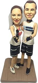 Statue di sculture personalizzate da fototessere regali personalizzati per bambole bambolina sculture personalizzate da fo...