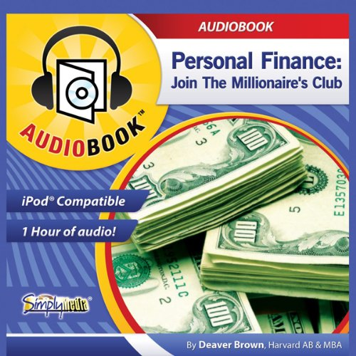 Personal Finance audiobook cover art