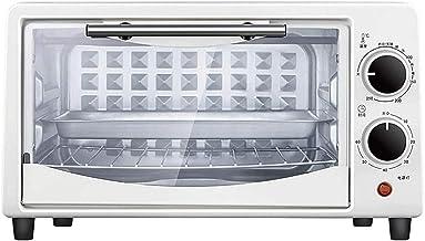 MDHDGAO 10L Mini Four électrique Gril Multi Cuisine/Gril,Réglage de la température 0-250□,Minuterie-750W(blanc) MDHDGAO