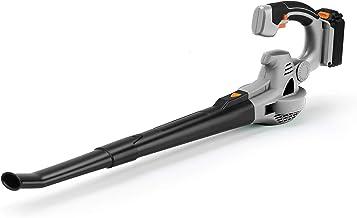 Ukoke U03LB Cordless Electric Power Leaf Blower, Portable Handheld Battery Operate, 40..