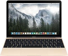 Apple MacBook MK4N2LL/A 12-Inch Laptop with Retina Display (Gold, 512 GB) OLD VERSION (Renewed)
