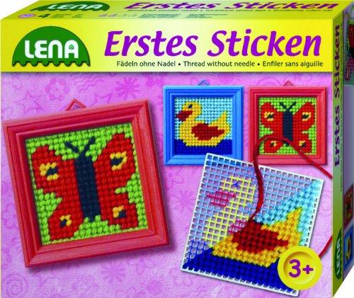 Lena Métier à tisser – tisser, perle Web Cadre, 7 cm