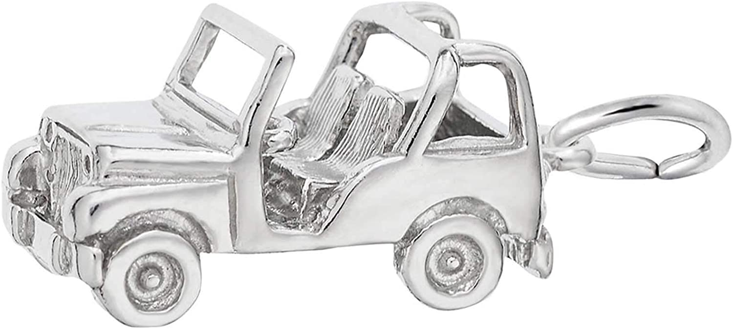 Rembrandt Charms Jeep Charm