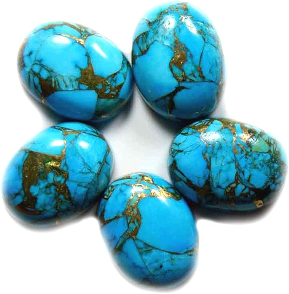 55Carat 14X10 to 18X13 MM Popular product Genuine Turquoise Ca Shape Oval Copper Popular product