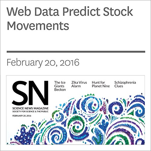 Web Data Predict Stock Movements cover art