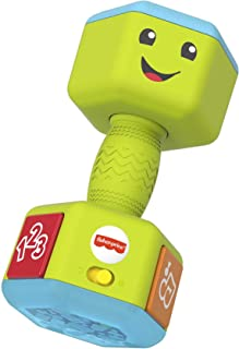 Fisher Price GJW57 Laugh & Learn Countin' Reps Dumbbell Toy