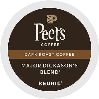 Peet's Coffee Major Dickason Blend Single Cup Coffee for Keurig K-Cup Brewers 40 count