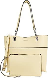 Calvin Klein Novelty North/South Reversible Tote Lemon One Size