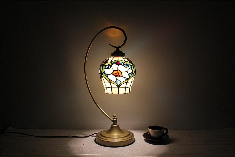 MEHE HOME-7-Zoll-Vase kreative Ehe Raum dekorative Leuchten Schlafzimmer Nachttischlampe Nachtlicht-Legierung Basis Tischlampe B01FVP8R08     | Trendy