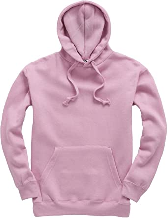 Plain Pullover Hoodie Hooded Top Unisex Mens Ladies Hooded Sweatshirts