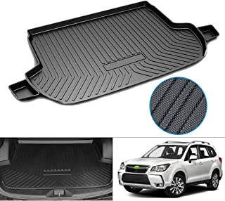 Premis Cargo Liner 3D All Weather Thicker Waterproof Rear Cargo Tray Trunk Floor Mat for Subaru Forester 2014-2018