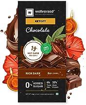 Ketofy - Dark Keto Chocolate (50g) | Sugar Free Unsweetened Intense Dark Chocolate | No Maltitol | Gluten Free