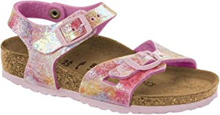 Birkenstock Kids' Rio 34 Narrow Water Color Mlti BF