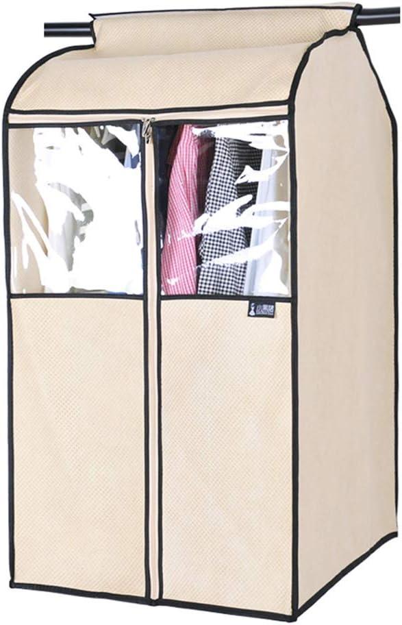 120cm voller Rei/ßverschluss transparente Kleidung Set h/ängen Tasche mehrere Gr/ö/ßen Schutztasche QFFL Clothes bag Kleidungsst/ückabdeckungen Vlies Kleidersack 52 Farbe : Beige , gr/ö/ße : 52*85cm