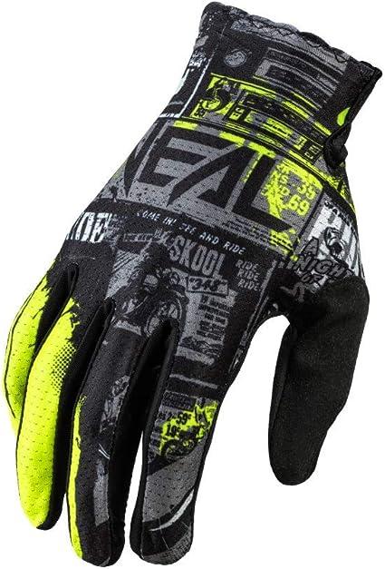 O Neal Fahrrad Handschuh Motocross Handschuh Mx Mtb Dh Fr Downhill Freeride Langlebige Flexible Materialien Belüftete Handoberseite Matrix Glove Ride Erwachsene Bekleidung